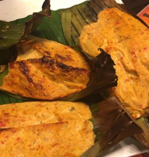 Grilled Mackerel Otak