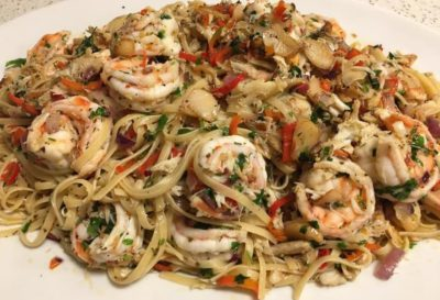 lynnette's kitchen aglio olio