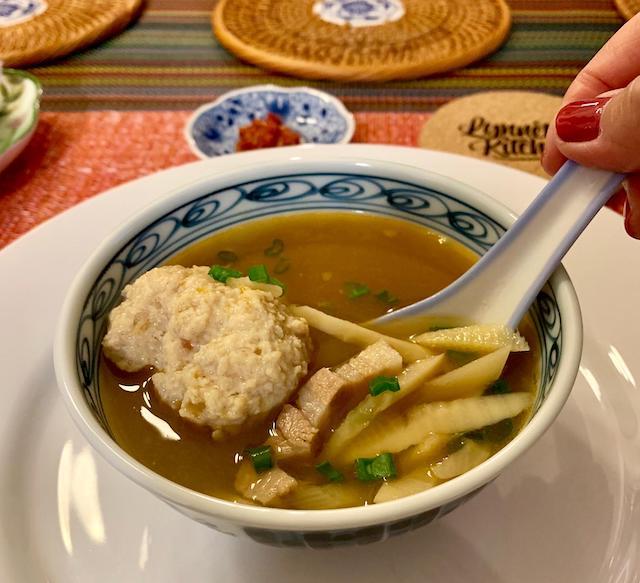 pong tauhu soup